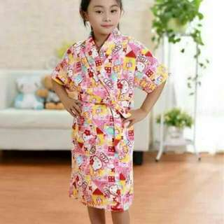 Character bathrobe for kids