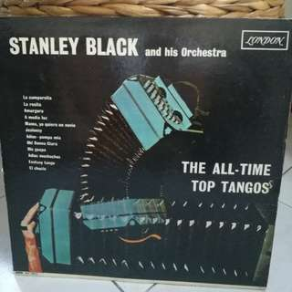 STANLEY BLACK & IS ORCHESTRA THE ALL TIME TOP TANGOS VG