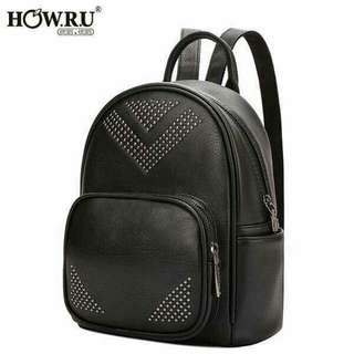 BLACK CHIC BACK PACK