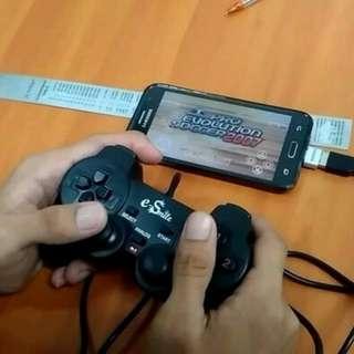Stik single HP handphone BONUS OTG laptop pc komputer cpu Android joystik setik game kabel cable