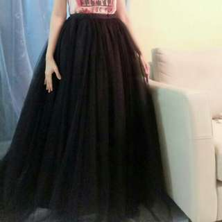 BLACK TUTU SKIRT FOR RENT