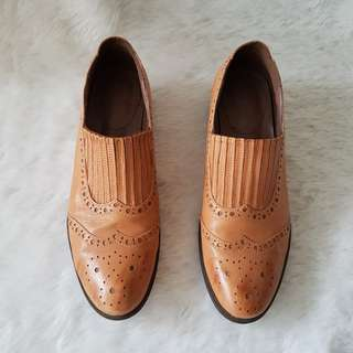 Matthew's Genuine Leather Brown Shoes