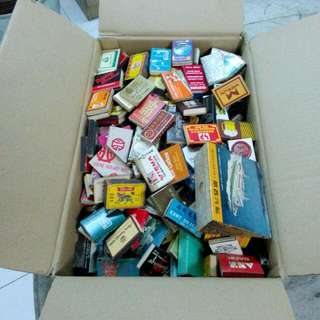 Vintage Matchboxes Lot