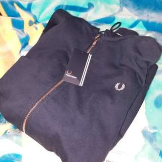 Fred Perry Loopback Zip Hoody Carbon Blue (包郵)