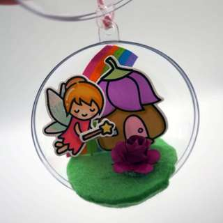 Fairy Ornament - Handmade Gift