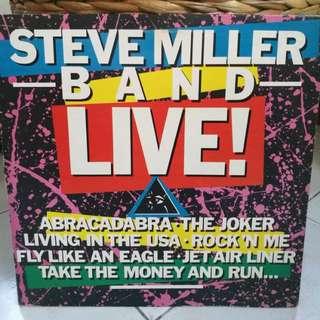STEVE MILLED BAND LIVE VG