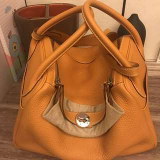 Hermes Lindy 30 Mango color