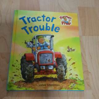 Farmer Fred - Tractor Trouble (Hardcover)
