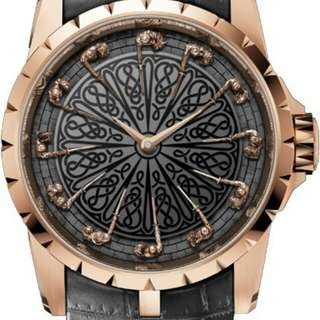 Roger Rubuis Excalibur Night of round table ll (Gold)