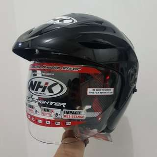 Helm half-face NHK X2 Series Double Visor (Size M)