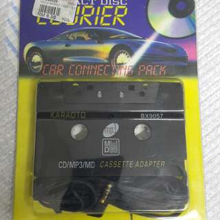 CD/MP3 to Cassette Adapter
