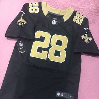 Authentic Nike NFL Ingram 28 Black Gold Jersey