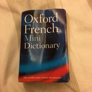 Oxford French Mini Dictionary 迷你法文字典