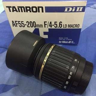 NEW Tamron 55-200 F/4-5.6 for Nikon