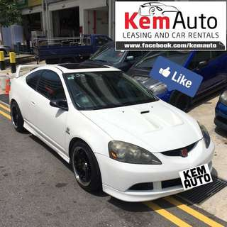 Weekend sports car rental (BMW 520i M5 Honda Civic integra Dc5 FD2M FD1 Subaru Impreza RS Toyota Axio Mitsubishi colt R)
