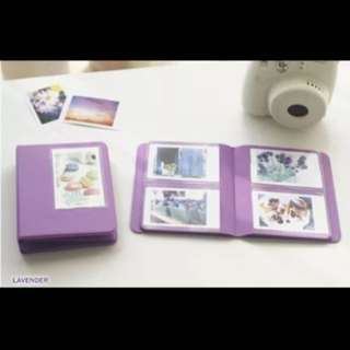 Polaroid Instax Mini Album (Purple)