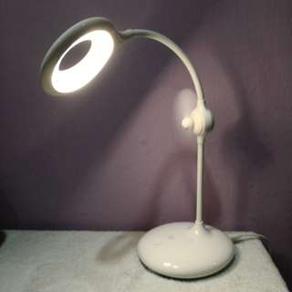 LED table lamp with fan/LED lamp/eye care LED/table light