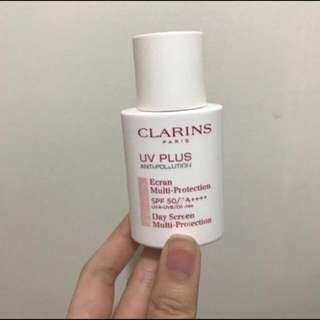 Clarins克蘭詩輕呼吸全效UV隔離露SPF50/PA++++ 30ml Baby粉