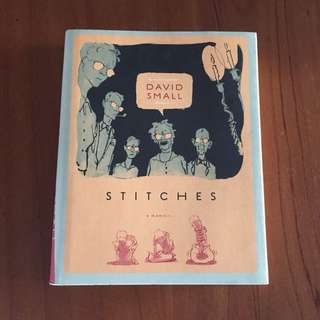 Graphic Novel - Stitches by David Small (Hardcover)