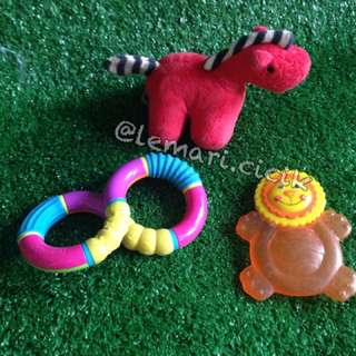 Baby Teether and Rattle Pack D
