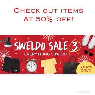 Sweldo Sale!!!