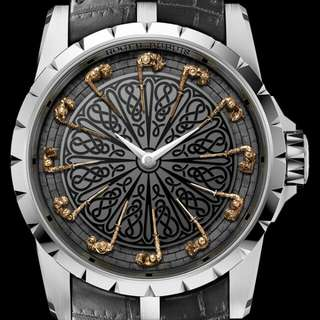 Roger Rubuis Excalibur Night of round table ll (Silver)