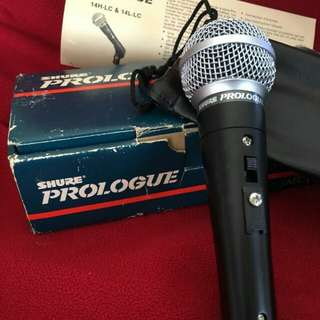 Shure Prologue