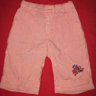 Marese (French brand) check shorts with embroidery 6 yrs