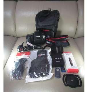 9成9新60D 半專業相機 行貨(冇盒) 淨機$2800 及其他鏡頭配件 (鏡頭) 另外加錢