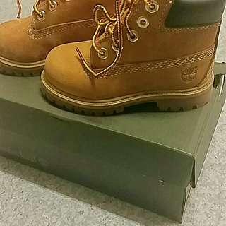 Brand new in the box timberlands