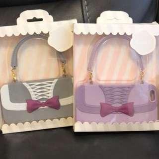 全新灰白/粉紫白iPhone 6 /6s 電話套