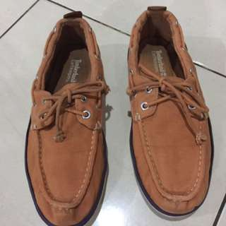 timberland flat shoes (authentic)