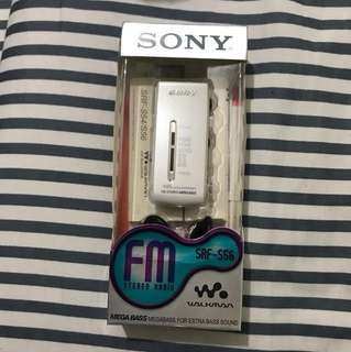 SONY FM 收音機  買於考試用,9成新