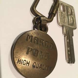 Marco Polo key chain