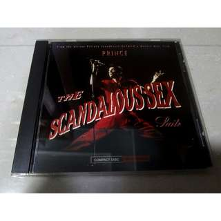 Prince The Scandalous Sex Suite CD