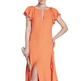 BCBG Julianne Vermillion Dress