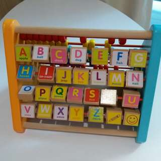 Wooden Alphabets Toy