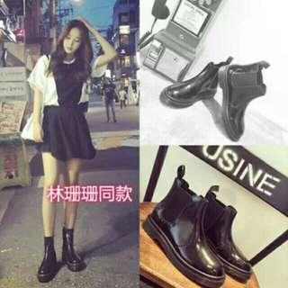 韓版短靴,雨靴