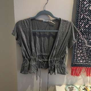 Urban outfitters tie top