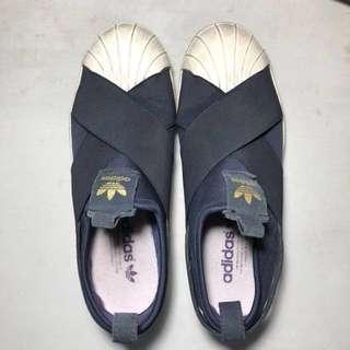 Adidas Superstar Slip ons (Blue)