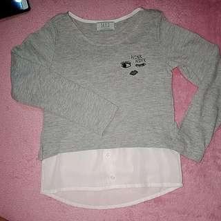 💖Long Sleeve Shirt  size 7