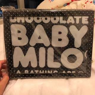 全新chocoolate x baby milo斜咩袋