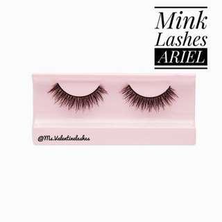 Mink hair eyelashes