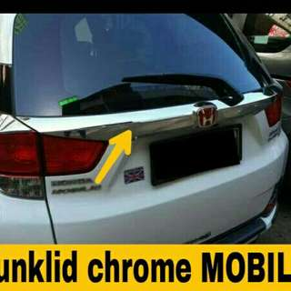 Trunklid / list bagasi chrome Mobilio