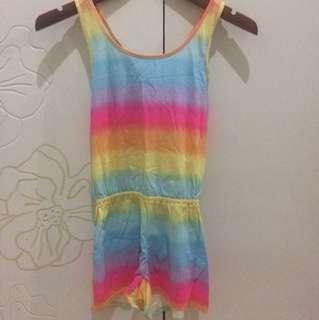 Jumpsuit rainbow Reprice