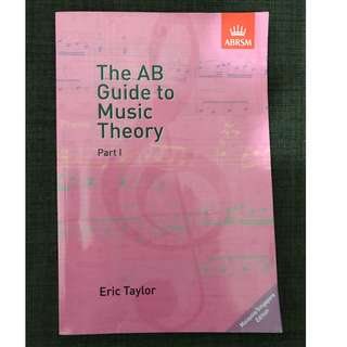 ABRSM The AB Guide to Music Theory Part 1