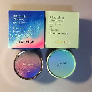 Laneige BB cushions