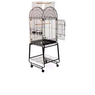 Extra Large Open-Top Parrot Cage with Stand [INSTOCK]