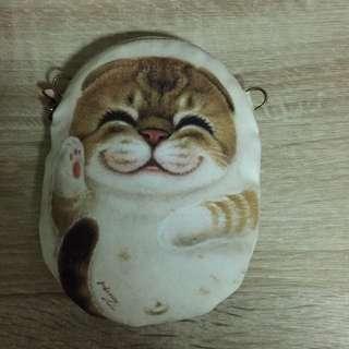 Kitten design pouch
