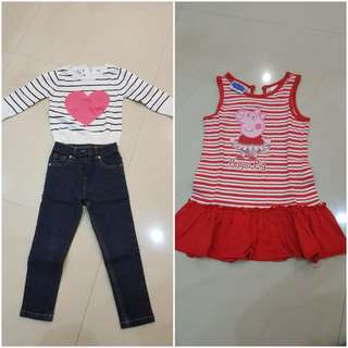 Clothings for 2-3yrs old